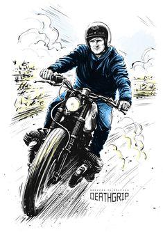 Deathgrip - Brendan Fairclough illustration by Adi Gilbert / 99seconds.com