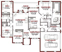 First Floor of Plan ID: 56552