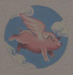 FP04 -  Flying Pig in Clouds