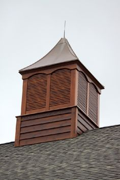 Copper Cupolas Finials Weather Vanes Cedar Roof