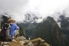 Machu Picchu -  Would love to backpack this with David!