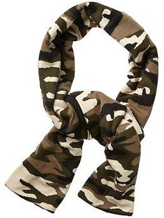Plush Fleece Lined Camo Scarf | Piperlime - $88 is a lot for a scarf, but I am totally in LOVE with this one...