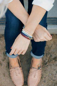Stacking Bracelets//