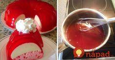 Je fantastická a pritom taká jednoduchá. Môžete ju pripraviť v akejkoľvek farbe. Všetko, čo potrebujete sú len tri suroviny! Gelatin Bubbles, Learn To Cook, Nutella, Kids Meals, Panna Cotta, Sweet Tooth, Cheesecake, Food And Drink, Cooking Recipes