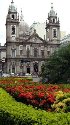 Igreja da Candelária (Candelaria Church) - Historical Center - Rio de Janeiro, BRASIL.