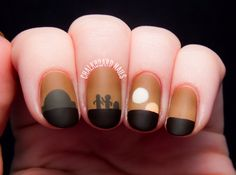 And this one: | 25 Gloriously Geeky Nail Art Tutorials