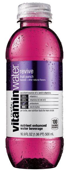 Vitamin Waterbottle designed by Karim Rashid for Glaceau
