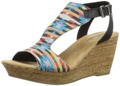 Minnetonka Women's Duffy Wedge Sandal >>> New and awesome product…