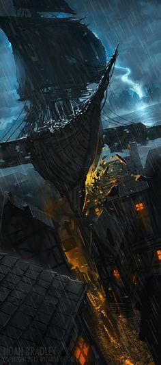The Storm Bird by ~noahbradley on deviantART