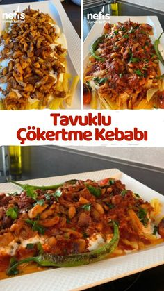 Turkish Recipes, Ethnic Recipes, Turkish Kitchen, Chicken Recipes, Recipies, Food And Drink, Healthy Eating, Pasta, Yummy Food