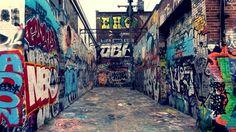 Graffiti alley in baltimore md so inspiring