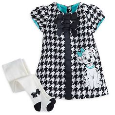 f990645ccc7 101 Dalmatians Deluxe Woven Dress for Baby Disney Baby Clothes Girl
