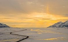 Adventdalen, Svalbard -Norway  True North  (this is where future survival seeds of the world are stored)
