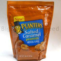 Planters Salted Caramel Peanuts nut crunchy snack food sweet & salty 16 oz bag #Planters #BigBoyTumbleweed