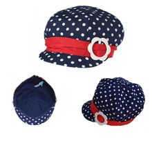 New Lovely Cute Baby hat newborn baby caps infant berets Kids Hat for Boy  Girls Cotton Dot Caps 2015 bd159a6706a