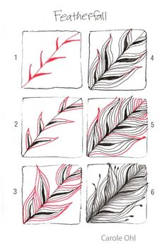 zentangle patterns how to draw | worries of how to draw steps to what my poetic husband has named ... by Linda Jane Smith