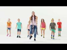 Dance Warm Up, Just Dance, Dance Choreography Videos, Dance Videos, Yoga For Kids, Exercise For Kids, Children Dance Songs, Dance Activities For Kids, Free Dance Classes