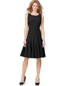 Calvin Klein Sleeveless Colorblock Ponte Sheath Dress   Nordstrom ...