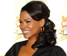 Glamorous Wedding Hairstyles for Black Women...most of these are flat out ugly but I'm feeling Nia's!!