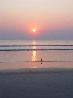 Daytona Beach Florida Shore Ocean Sunrise photo by Paul Bates Daytona Beach Florida, Florida Beaches, Florida Usa, Beautiful Sunset, Beautiful Beaches, Beautiful World, Beautiful Moments, Sunrise Pictures, Belle Photo