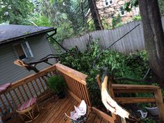 Storm at Dad's