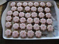 Ořechové linecké kytičky (bez žloutků !!)