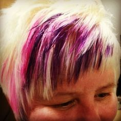 Elumen Goldwell pink and purple