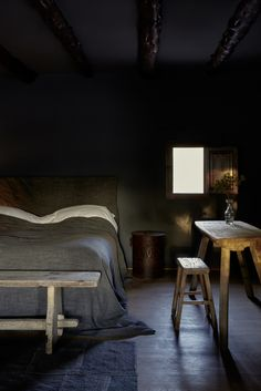 La Granja: le nouvel hôtel cool et design à Ibiza / © Design Hotels Home Design, Design Hotel, Interior Design, Wabi Sabi, Pretty Things, Ideas Dormitorios, Bedroom Blinds, Sweet Home, Dark Walls