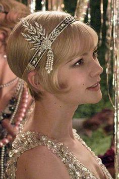 Great Gatsby. thinking of cutting my hair short ;)