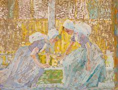 Jan Toorop, Zeeuwse meisjes - 1908