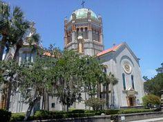 St. Augustine 450th Anniversary! - Top Tourist #flaglermemorialPresbyterian  #staugustine #staugustine450