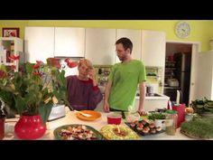 ▶ Irene's Raw food recipes - recettes pour une alimentation vivante - YouTube