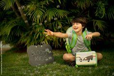Linha de Acessórios da Bloom Kids  Mochila e Lancheira Carros www.bloomkids.com.br