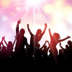 Party Crowd Background 1201 Background Party People Png And Vector With Transparent Background For Free Download
