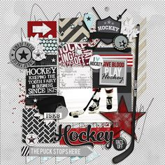 Brook's Templates - Duo 16 - Knick Knack by Brook Magee Slapshot Bundle by Libby Pritchett