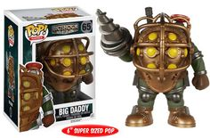 The iconic Big Daddy from the original BioShock, is now a POP Vinyl figure.