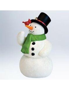 Hallmark ornaments are my favorites!