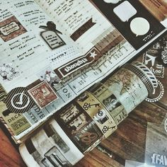 Addicted to washi tapes !!! #mtn #midoritravelersnotebook #travelersnote #travelersnotebook #notebook #planner #plannerph #diary #agenda #journal #stationery #washitape
