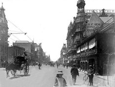 Adderley Street, Cape Town | HiltonT | Flickr Old Pictures, Old Photos, Vintage Photos, Cities In Africa, Old Photography, Most Beautiful Cities, African History, Cape Town, South Africa