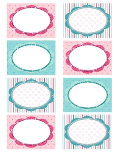 Valentine Freebie Blog Labels