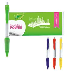 Norwood Promotional Products :: Product :: Grip Banner Pen