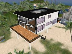 *COZI* Modern Beach House v2.1 (unfurnished)