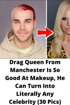 Drag #Queen From Manchester Is So #Good At Makeup, He Can #Turn Into Literally Any #Celebrity (30 Pics) Wtf Funny, Funny Memes, Online Shopping Fails, Grey Hair Transformation, Kevin Mccallister, Nikkie Tutorial, Tattoo Fails, Cute Funny Babies
