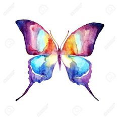 Resultado de imagen para butterfly watercolor tattoo