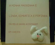 For a special godmother. Teddy Bear, Cover, Books, Crafts, Animals, Libros, Manualidades, Animales, Animaux