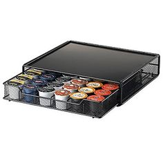 Jcpenney's K-Cup® Holder Storage Drawer.  Or one for under the Kuerig would work well too!