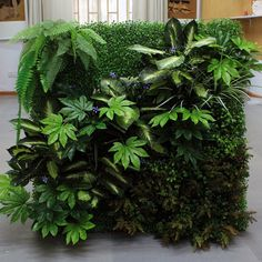 DIY Artificial Green Walls-Vertical Garden
