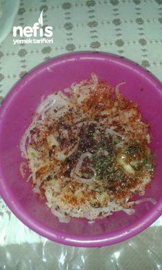 Onion Appetizer (Next to Fish)- Soğan Mezesi ( Balık Yanına ) Onion Appetizer (Next to Fish) - Side Dishes For Fish, Pasta Side Dishes, Dinner Side Dishes, Potato Side Dishes, Dinner Sides, Dinner Party Recipes, Healthy Dinner Recipes, Fish Recipes, Meat Recipes