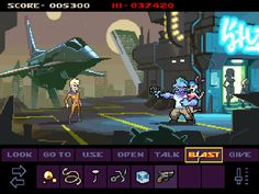 "Starr Mazer System: PC Year: TBA Developer: Imagos Softworks Website: starrmazer.com Video: Trailer Description: ""Starr Mazer blends two classic genres, the Point-and-Click Adventure and Classic-style Shoot 'Em Up, into a retro-sexy sci-fi epic with modern design sensibilities, open-middled gameplay and RPG elements."""