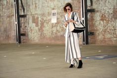 CHIC CULOTTE | #StreetStyle on #theStreetMuse.it by #MelanieGalea